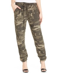 Rewash Juniors' Camouflage Print Soft Pants