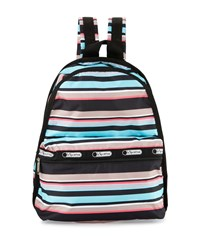 Le Sport Sac Lesportsac Basic Striped Backpack Tennis Stripe