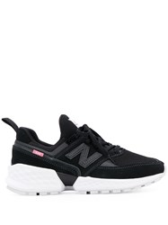 New Balance Lace Up Sneakers Black