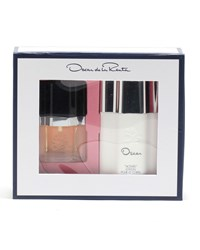 Oscar De La Renta Eau De Toilette And Activee Body Lotion Gift Set