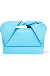 J.W.Anderson Leather Clutch Light Blue