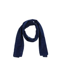 Scotch And Soda Oblong Scarves Blue