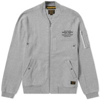Neighborhood Ma 1 Smooth Cardigan Grey