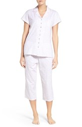 Eileen West Women's Cotton Capri Pajamas