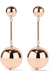 J.W.Anderson Rose Gold Tone Earrings One Size