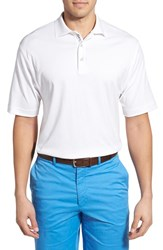 Men's Bobby Jones Solid Pima Cotton Jersey Polo White