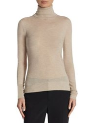 Saks Fifth Avenue Collection Cashmere Turtleneck Sweater Charcoal Heather Chantrelle Heather Nightfall Ebon