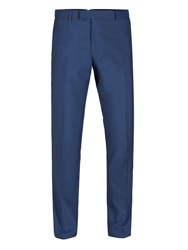 Alexandre Of England Men's Tadley Blue Slim Trouser Blue