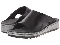Naot Footwear Ardisia Black Madras Leather Women's Sandals