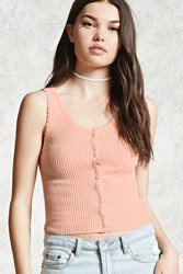 Forever 21 Scalloped Sweater Knit Cami