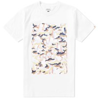 Head Porter Plus Nu Camo Tee White