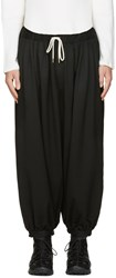 Sasquatchfabrix. Sasquatchfabrix Black Balloon Trousers