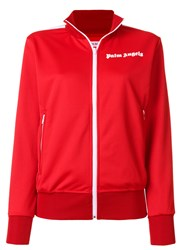 Palm Angels Zipped Sport Jacket Polyester L Red