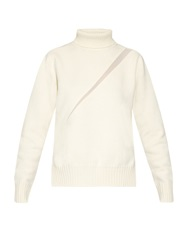 Undercover Silk Insert Roll Neck Wool Sweater