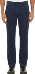 Save Khaki Bedford Trousers Blue