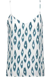 Equipment Layla Printed Washed Silk Camisole Ivory