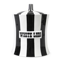 Jonathan Adler Vice Canister White Lies Black White