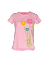 Rose' A Pois T Shirts Pink