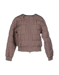 Adidas By Stella Mccartney Jackets Dove Grey
