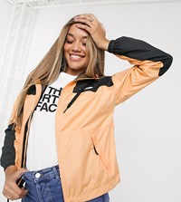 The North Face Sheru Jacket In Orange Exclusive At Asos