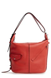 Marc Jacobs The Sling Leather Hobo Orange Copper