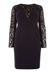 Persona Disporre Lace Dress Navy