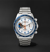 Bell And Ross Br V2 94 Racing Bird Limited Edition Automatic 41Mm Stainless Steel Watch White