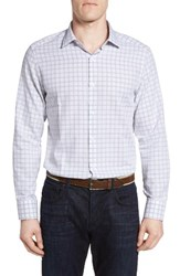 Robert Barakett Men's Iverson Regular Fit Check Sport Shirt