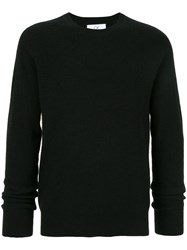 Ck Calvin Klein Long Sleeve Fitted Sweater Black