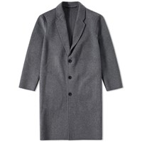 Acne Studios Charles Cashmere Coat Grey