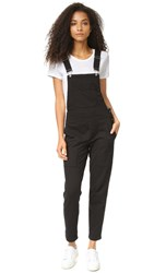 Wilt Slouchy Overalls Black