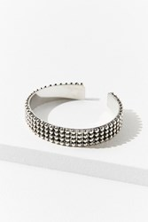 Urban Outfitters Ball Chain Cuff Bracelet Silver