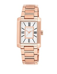 Vince Camuto Ladies Rose Goldtone Square Watch