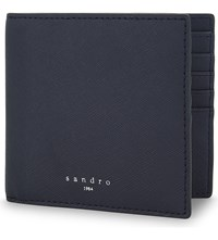 Sandro Leather Wallet Blue
