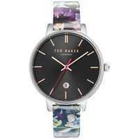 Ted Baker Te10031549 Women's Katie Date Enchantment Floral Leather Strap Multi Black