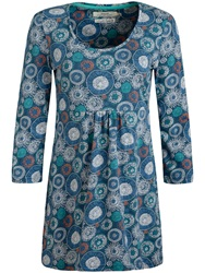 Seasalt Trevilley Print Tunic Seed Heads Squall