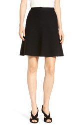 Halogenr Petite Women's Halogen Knit Skater Skirt Black