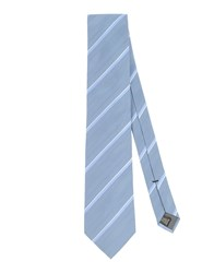 Ck Calvin Klein Accessories Ties Men Slate Blue