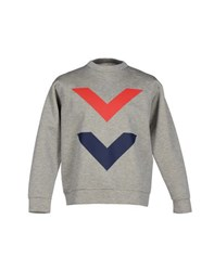 Etre Cecile Topwear Sweatshirts Men Grey