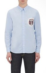 Visvim Appliqued Shirt Blue