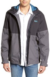 Men's Helly Hansen 'Fremont' Waterproof Rain Jacket Ebony