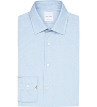 Paul Smith Tailored Fit Cotton Shirt Teal