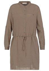 Stefanel Summer Dress Khaki