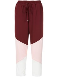 Olympiah Peru Trousers Red