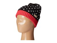 Columbia Powder Princess Hat Youth Black Punch Pink Knit Hats