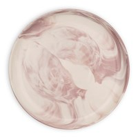 Swirl Marble By Blisshome Side Plate Pink