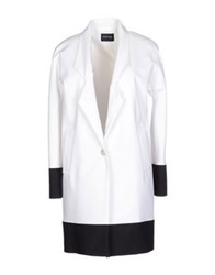 Guess By Marciano Full Length Jackets White