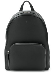 Montblanc Top Zipped Backpack Black