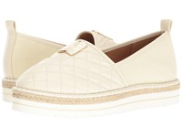 Love Moschino Superquilted Espadrille White Women's Shoes