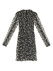 Dolce And Gabbana Bell Sleeve Daisy Print Dress